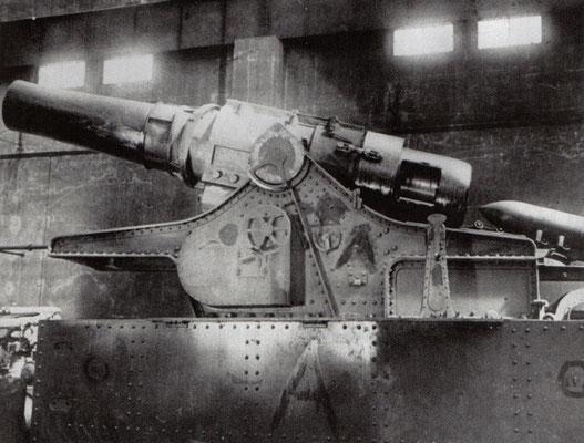Dicke Bertha, obusier 42 cm
