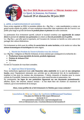 Dossier de Presse & de Sponsoring page 4