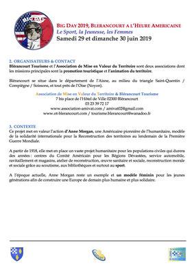 Dossier de Presse & de Sponsoring page 2