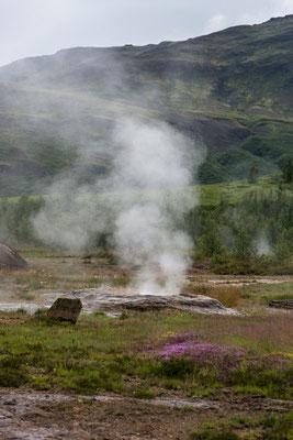 Site de Geysir - Islande - 14/07/2015