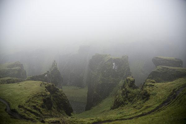 Canyon de Fjaðrárgljúfur - Islande - 18/07/2014