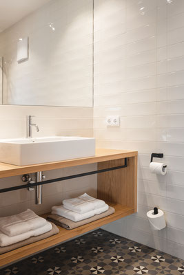 Chalet Suite - Badezimmer