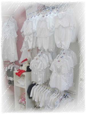 Taufkleidung für Mädchen und Jungen