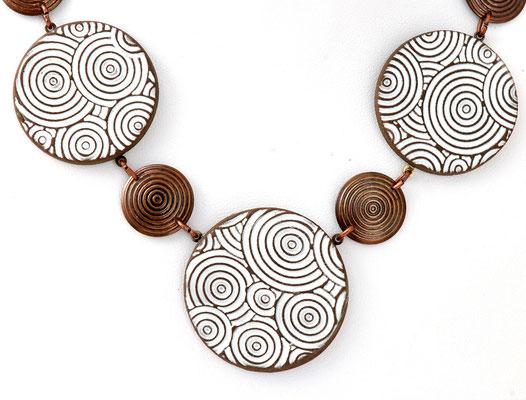 collier ethnique céramique lilibulle