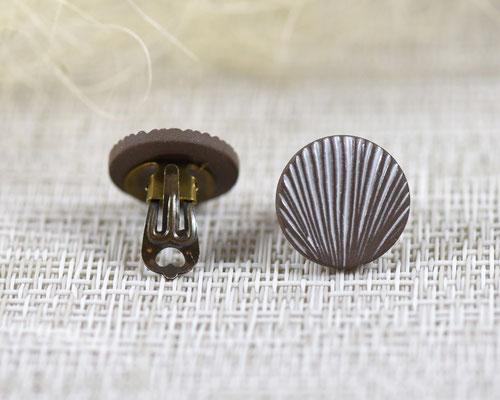 boucle oreille clip créateur en ceramique