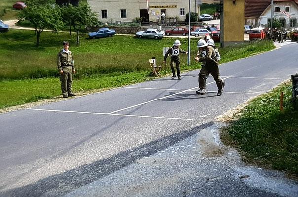 1990 - Bewerb in Oberkirchen