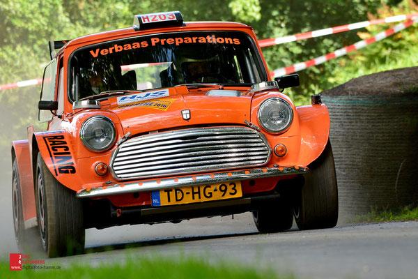 Slowly Sideways und Demofahrzeuge 45. ADAC Rallye Oberehe