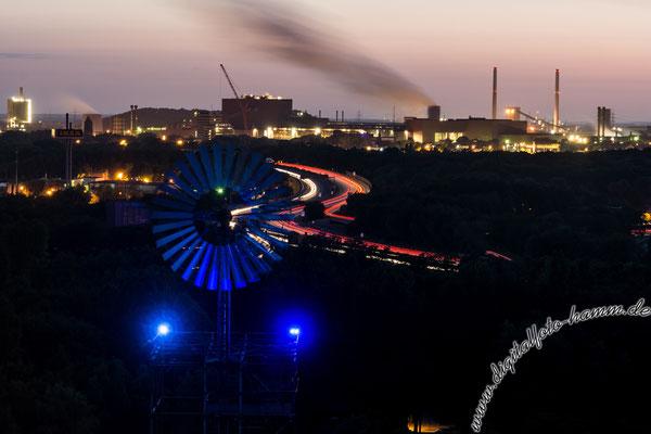Landschaftspark Duisburg - Nikon D7100, f/7.1, 30 Sek, 75 mm