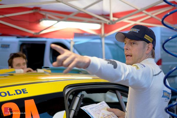 Ravenol Rallye Team, Torben Nebel / Gino Kruhs bei der ADAC Rallye Stemweder Berg