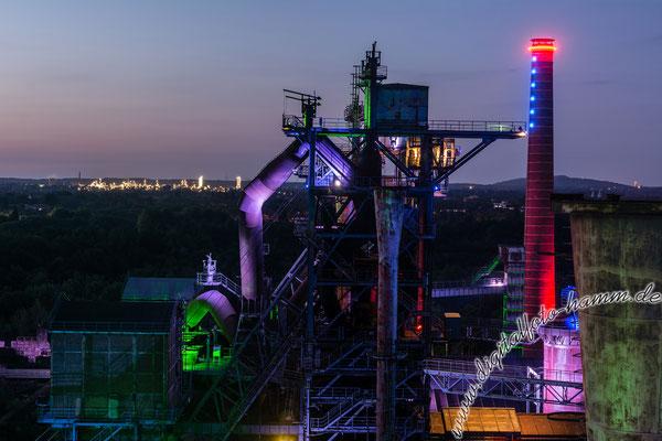 Landschaftspark Duisburg - Nikon D7100, f/7.1, 30 Sek, 40 mm