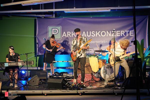 Parkhauskonzerte - Pele Caster