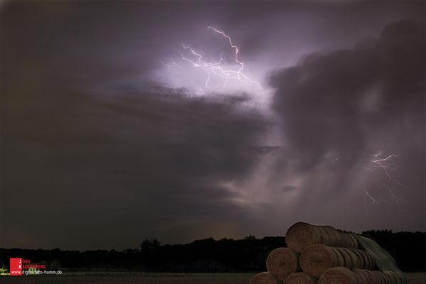 Gewitter über Hamm