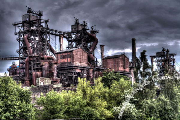 Landschaftspark Duisburg - Nikon D7100, HDR aus fünf Bildern, 50mm