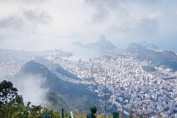 Blick auf Rio / Rio de Janeiro / Brasilien