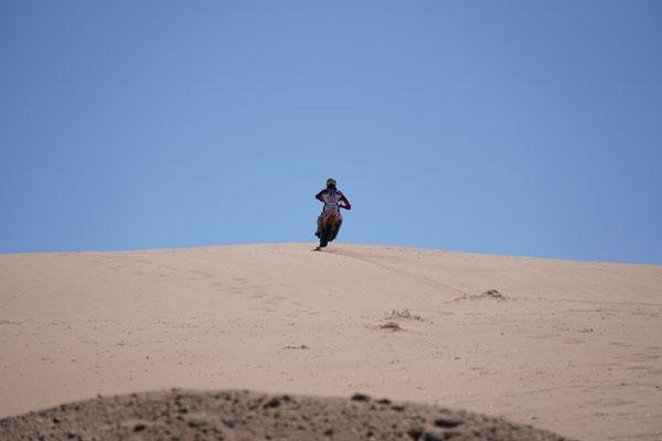 Die Dünen rauf 2 / Atacama Rally Chile
