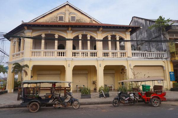 Kampot - Indochine Einfluss