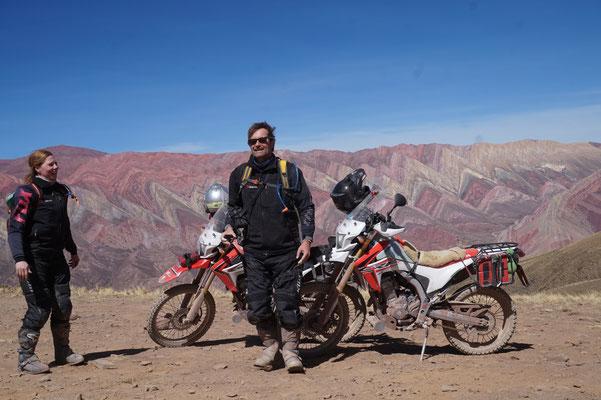 Humahuaca, bunte Berge/ Argentinien Teil 2