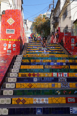 Mehr Treppen / Rio de Janeiro / Brasilien