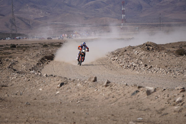 Sam Sunderland vollgas / Atacama Rally Chile
