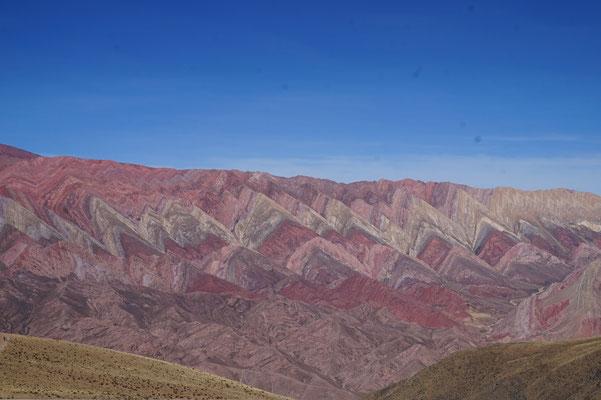 Humahuaca, bunte Berge 2 / Argentinien Teil 2