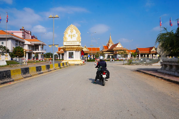 An der Grenze zu Kambodscha