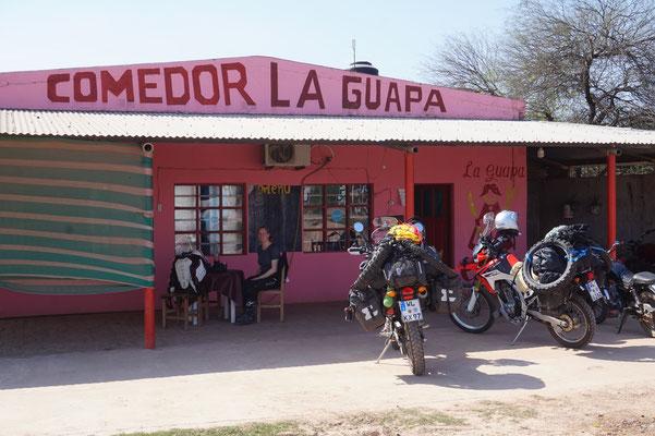 """Eine leckere Cazuela (Eintopf) gab es bei der """"Guapa"""""""