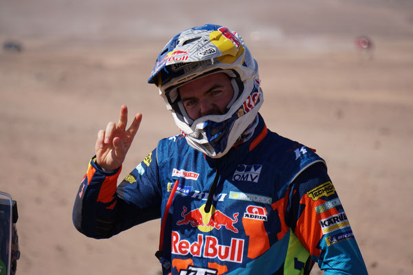 Matthias Walkner grüsst! / Atacama Rally Chile