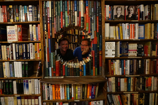 Mit Marc im Bookstore / Roadtrip USA