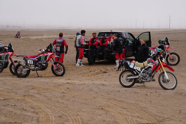Team HRC Rally Honda / Atacama Rally Chile