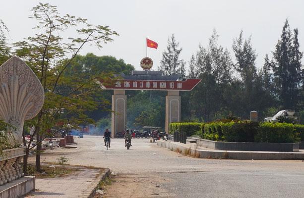 Ein Blick zurück nach Vietnam.