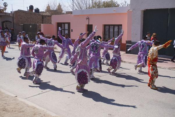Volkstanzgruppe in cachi / Argentinien Teil 2