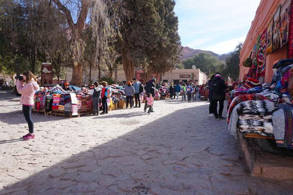 Bunter Markt in Purmamarca