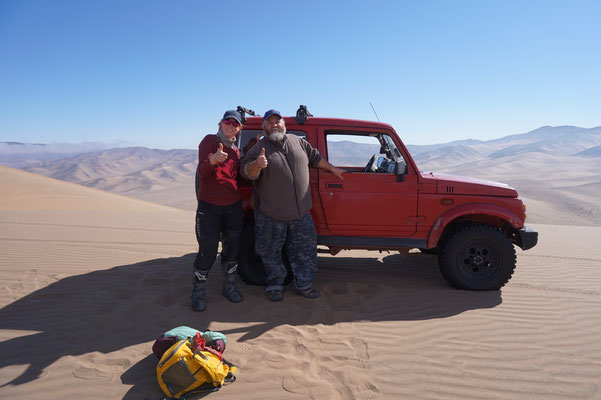 Der netteste Chilene / Atacama Rally Chile