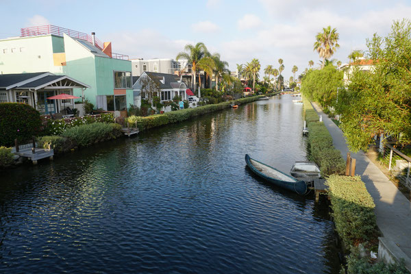 Venice Canals - schön / Roadtrip USA