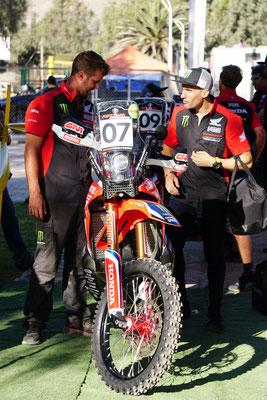 technische Abnahme bei Benavides /  Atacama Rally - Chile