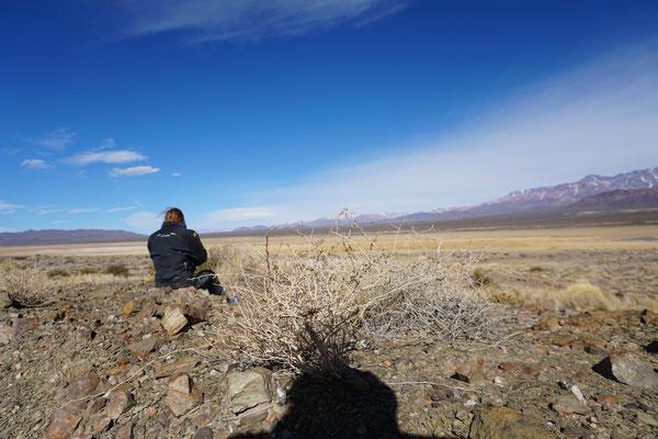 Frau in der Steppe / Argentinien Teil 1