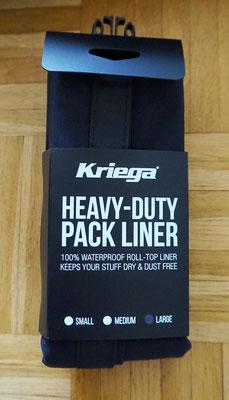 Kriega Heavy duty - verpackt so groß wie ein paar Socken