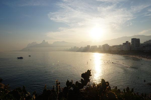 Sonnenuntergang in Ipanema / Rio de Janeiro / Brasilien