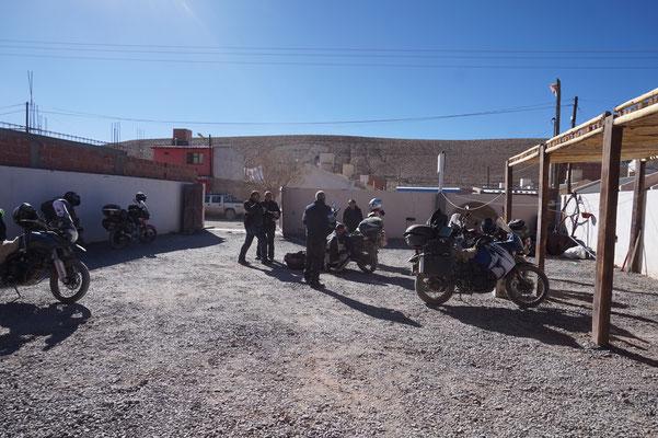 Unsere argentinischen Motorradfreunde