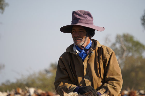 Derber gaucho Typ  / Paraguay