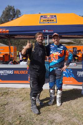 Matthias Walkner und Rossi /Chile