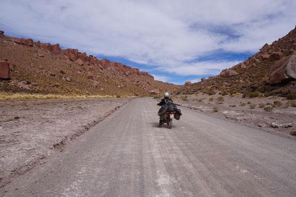 Ruta 40 - Ein irre Felsformation
