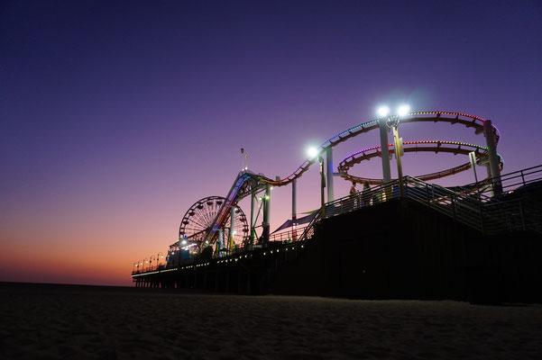 Santa Monica Pier LA / USA