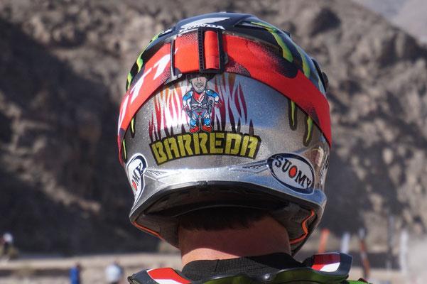 Joan Barreda s Helm/Chile