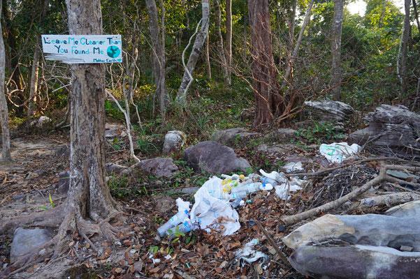 Der Planet ist Plastik vermüllt - wir haben viel davon gesehen