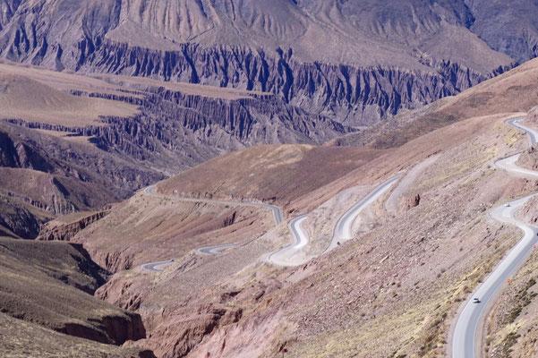 Tolle Schlängelpiste Ruta 52/ Argentinien Teil 2