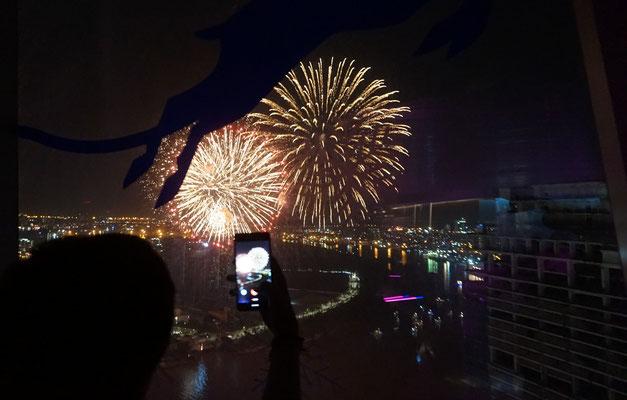 12 Uhr Mitternacht - Feuerwerk - bumm bumm