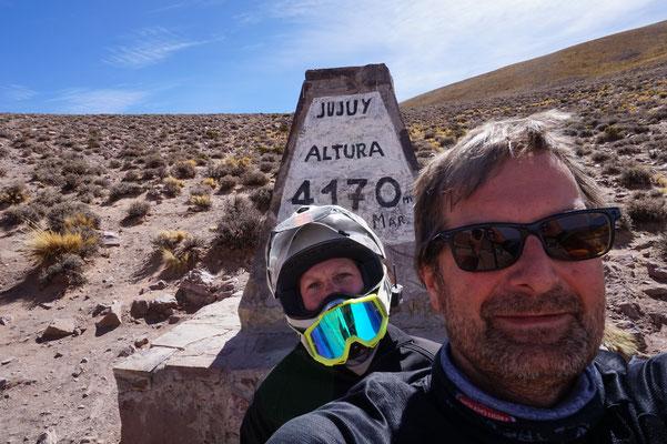 Schon wieder so weit oben...Ruta 52 Argentinien