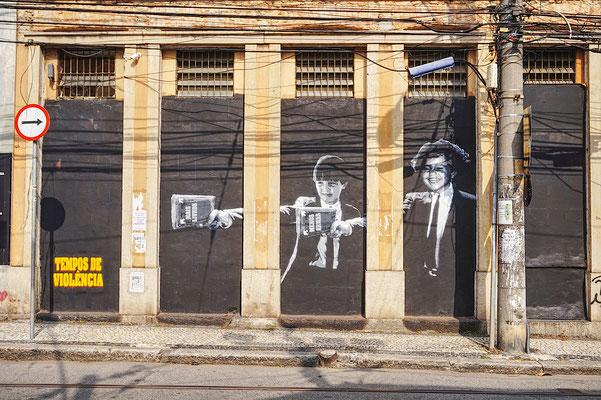 Streetart / Rio de Janeiro / Brasilien