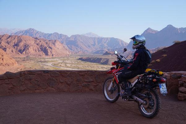 Tolle Aussicht in der Nähe von Cafayate / Argentinien Teil 2